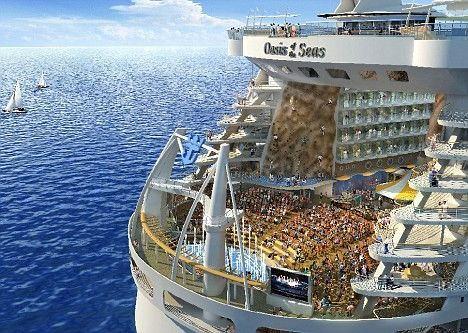 全世界最大最豪華郵輪 『海洋綠洲號』