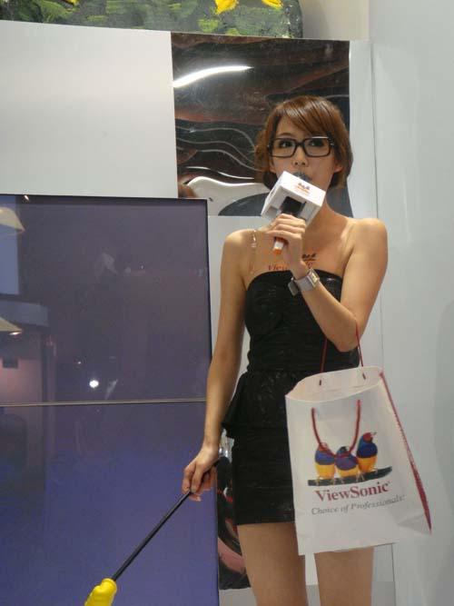 2009 台北資訊展 正妹 Showgirl 隨意拍