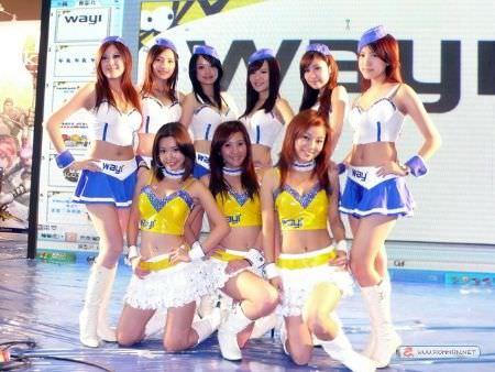 2009 台北國際電玩展 Show girl 隨意拍
