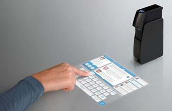 觸控螢幕大躍進 Light Touch 互動式投影機也能投射出觸控螢幕