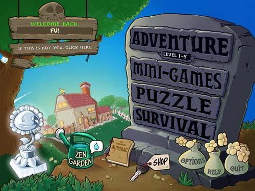 植物大戰殭屍 Plants vs Zombies 電腦遊戲下載 & 網頁版 輕鬆玩