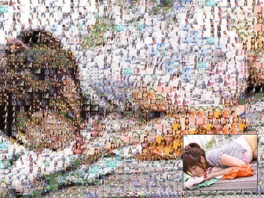 [特效] Foto-Mosaik-Edda 蒙太奇/馬賽克圖片拼貼製作教學@免安裝中文版
