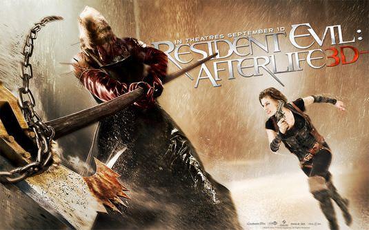 惡靈古堡4:陰陽界 IMAX 3D 電影評論之娛樂性十足爆米花片