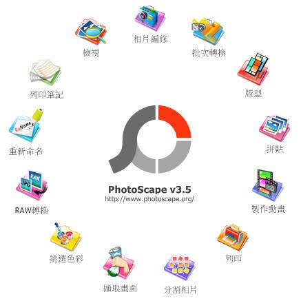 PhotoScape 免費照片編輯、擷取、拼貼軟體下載@免安裝中文版