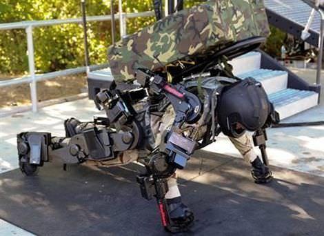美軍打造二代「鋼鐵人」XOS 2 擁有強化、威猛的鋼鐵盔甲