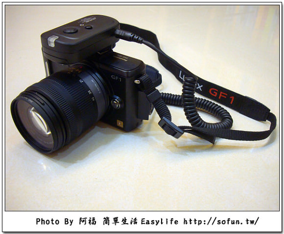 Panasonic GF1 相機無線快門線遙控器 PIXEL RW-221 開箱文