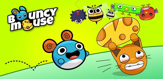[遊戲] 彈力跳跳鼠搶救起士大作戰 Bouncy Mouse