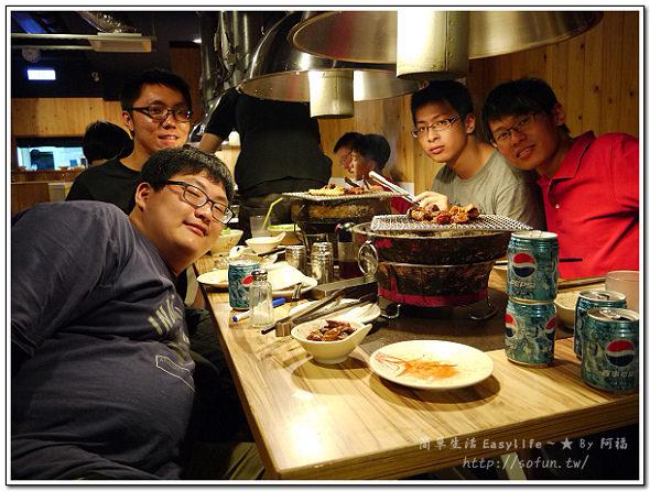 [食記] 田季發爺燒肉吃到飽(台北懷寧店)@同學聚會、交換禮物趣