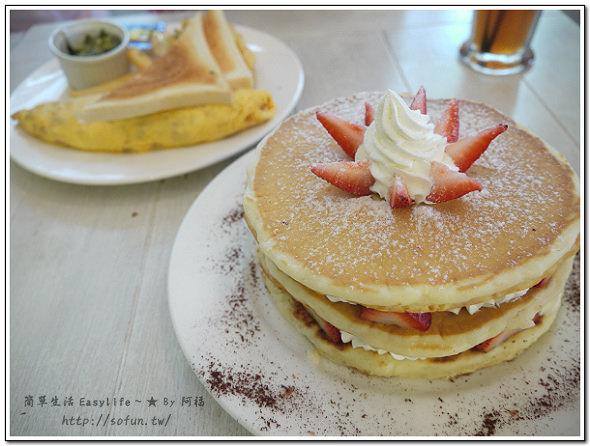 [下午茶] 台北東區。方糖咖啡館 Sugar Cafe@煎鍋鬆餅好吃