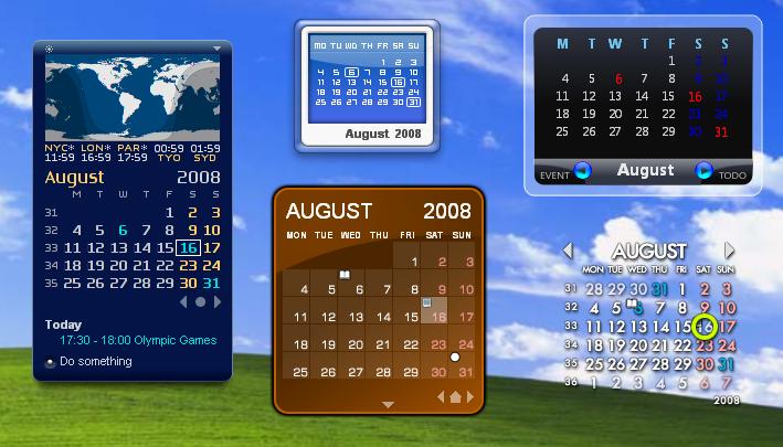Rainlendar Lite 漂亮又好用桌面行事曆@繁體中文免安裝版