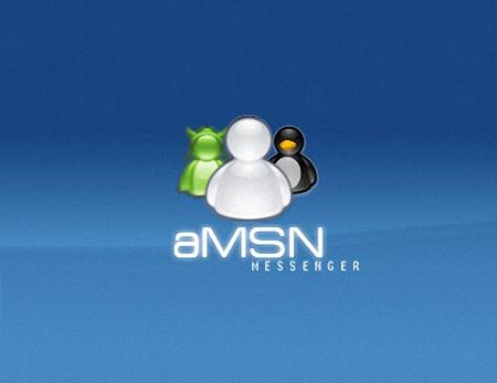 aMSN 取代MSN支援多帳號登入即時通訊軟體下載 免安裝中文版