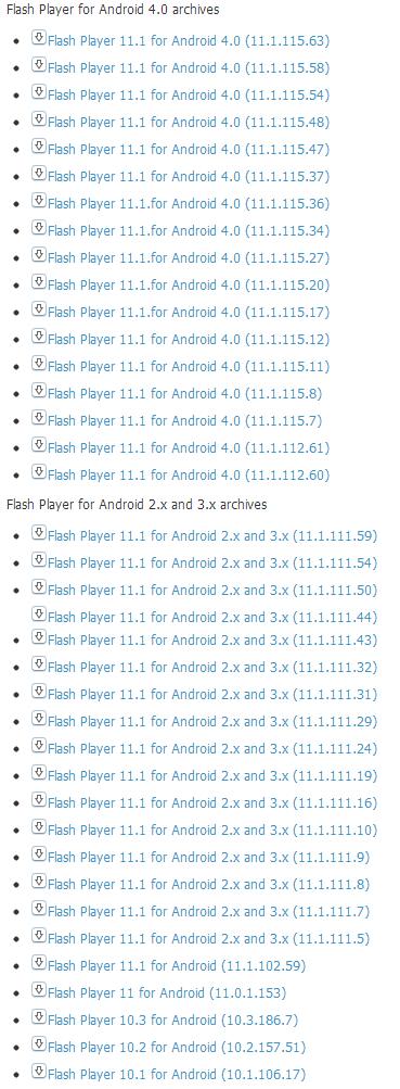 [教學] Android 手機/平板電腦安裝 Adobe Flash Player | Flash Player APK 檔案下載
