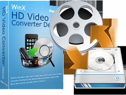 [正版序號] WinX HD Video Converter Deluxe – 影音編輯轉檔軟體下載 (免安裝中文版)