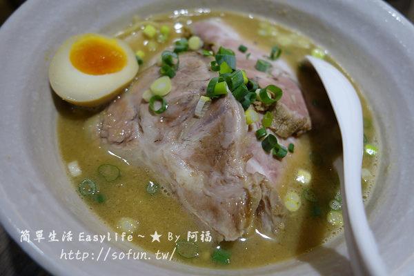 [食記] 台北中山區。來自日本大阪拉麵 ~ 麵屋輝@沾麵好吃、叉燒肉普普