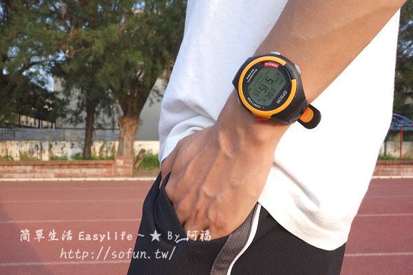 [玩物] EPSON 鐵人腕式 GPS 多功能運動錶開箱評測@跟著我來慢跑動一動吧