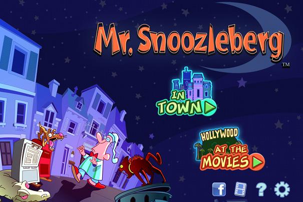 [好玩遊戲] Mr Snoozleberg 夢遊先生 – 電腦網頁版@讓你玩個過癮