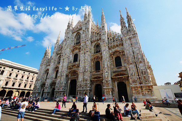 [義大利必去景點] 米蘭大教堂、艾曼紐迴廊、斯卡拉歌劇院@油炸三明治& RIMOWA 行李箱 (附折價券)
