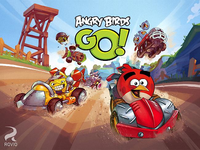 [必玩遊戲App] 憤怒鳥卡丁車 Angry Birds Go! 手機&平板電腦遊戲下載
