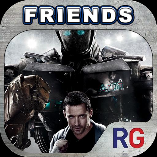 Real Steel Friends – 鋼鐵擂台機器人對戰遊戲 App
