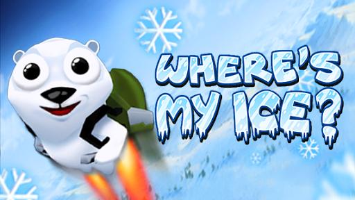 [分享] Where's My Ice? 飛天北極熊 – 逗趣可愛 App 飛行遊戲