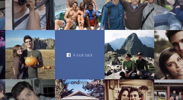 Facebook 新功能:回首好時光