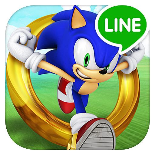 LINE SONIC DASH S – 音速小子跑酷闖關遊戲@經典好玩作品