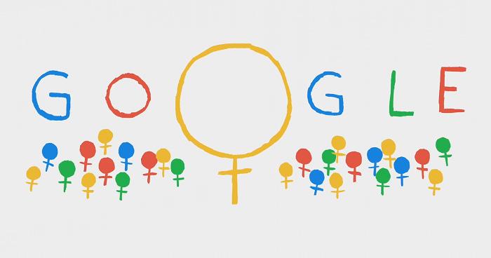 [Google Doodle] 2014 婦女節塗鴉|國際婦女節由來資訊