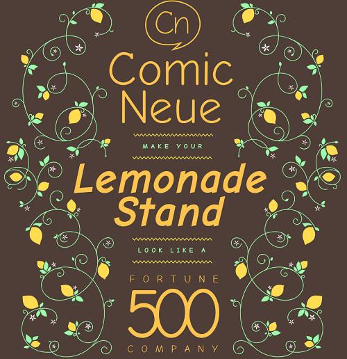 Comic Neue – 手寫風格字體集免費下載蒐藏