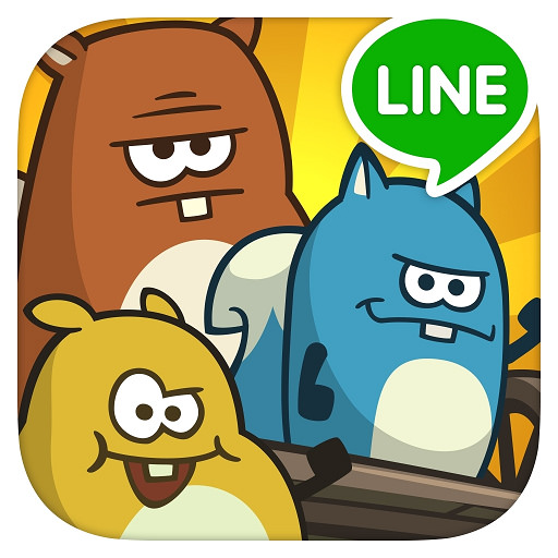 LINE Nutlings Tournament – 翻滾吧!松鼠@跑酷翹孤輪小遊戲
