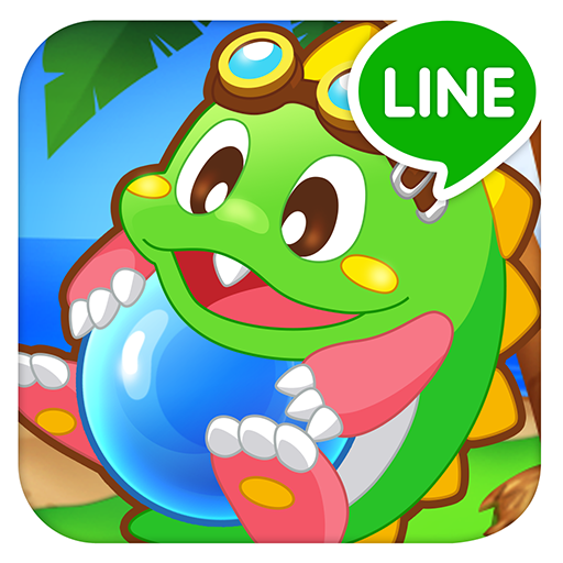 LINE Puzzle Bobble 泡泡龍@經典好玩泡泡消除遊戲