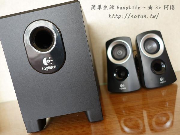 [玩物] 羅技暢銷入門款音響 – Z313 @2.1聲道喇叭開箱評測