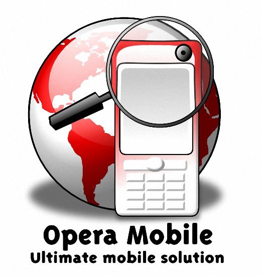 Opera Mobile – 電腦模擬手機畫面瀏覽器軟體套件下載