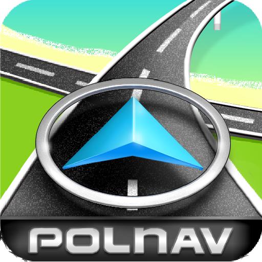 [App] Polnav EasyDriving – 免費離線行車衛星導航軟體下載