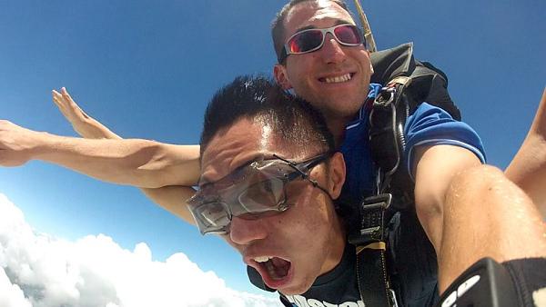 [玩樂] 澳洲凱恩斯 Skydive in Cairns 高空跳傘@挑戰自我極限