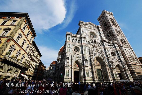 [佛羅倫斯。景點] 聖母百花大教堂、但丁之家、領主廣場、傭兵迴廊