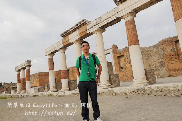[義大利遊記] 龐貝古城 Pompeii @火山淹沒塵封千年城市