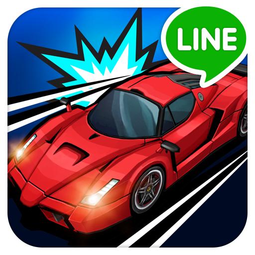 LINE Go!Go!Go! – 極速賽車@縱向 2D 競速小品遊戲