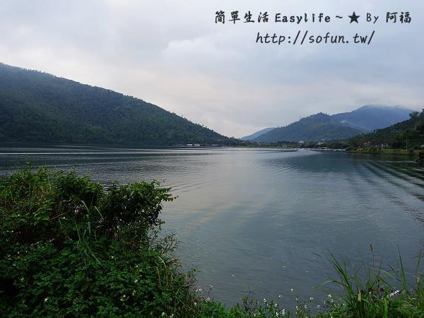 [花蓮景點] 鯉魚潭風景區@漫步於縱谷間欣賞湖畔風光