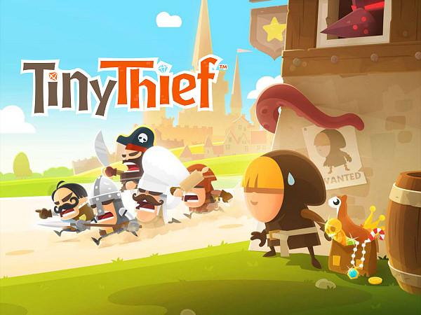 [App] Tiny Thief 小小盜賊:俠盜物語@好玩有趣益智解謎遊戲