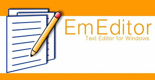 EmEditor 快速輕巧文字編輯軟體@支援大檔案、Unicode 開啟 (免安裝中文版)