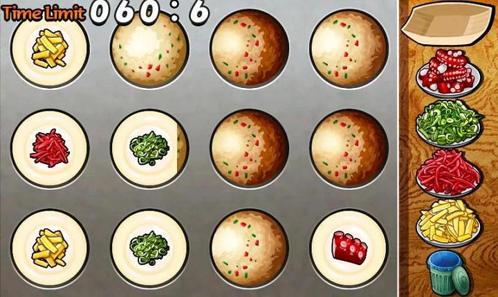 [Android] 章魚小丸子烹飪遊戲@來成為章魚燒達人