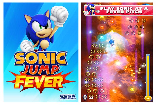 [App] 音速小子索尼克跳躍遊戲 – Sonic Jump Fever