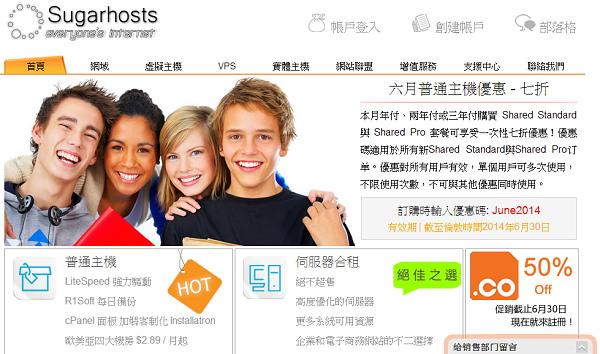 [分享] SugarHosts 糖果虛擬主機速度、優惠碼、評價@有中文客服