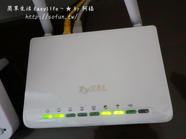 [開箱] ZyXEL NBG-418N 合勤便宜好用無線分享器 300Mbps 評價