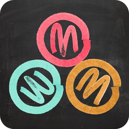[Android/iOS] Marble Drop – 粉筆式風格滾球益智 App 遊戲