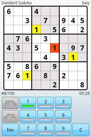 [Android] 數獨 Super Sudoku 難度高、玩法多樣
