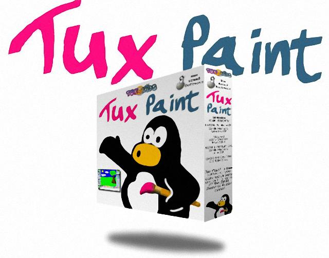 企鵝小畫家 Tux Paint – 兒童專用塗鴉繪圖軟體下載 (免安裝中文版)