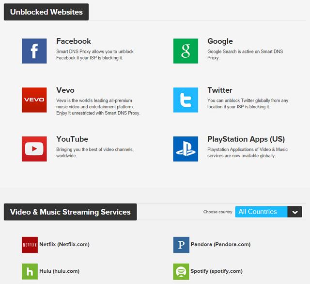 Smart DNS Proxy – 解決 YouTube、Hulu 等台灣無法連線播放「區域限定」網站