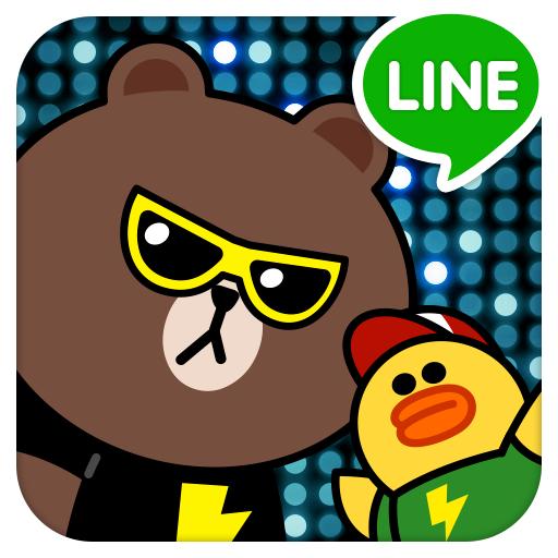 [Android/iOS] LINE STAGE 節奏擂台@跟著音樂舞動熊大、兔兔明星角色