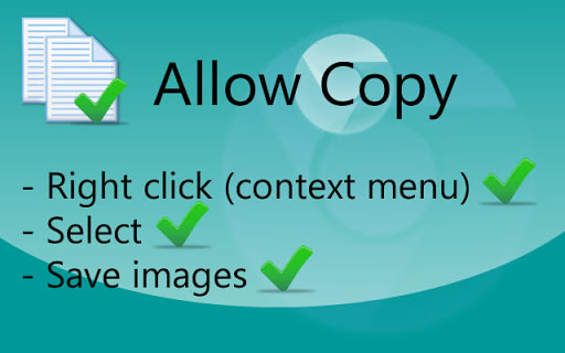 Allow Copy 破解網頁鎖右鍵限制@複製文字更簡單 – Chrome 瀏覽器擴充功能